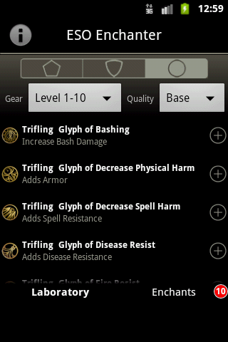 eso weapon damage glyph jewelry enchanter for eso android apps on play 178