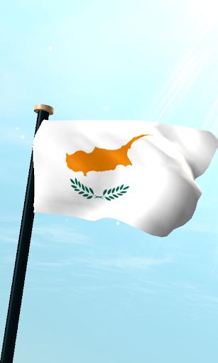 塞浦路斯旗3D免费动态壁纸