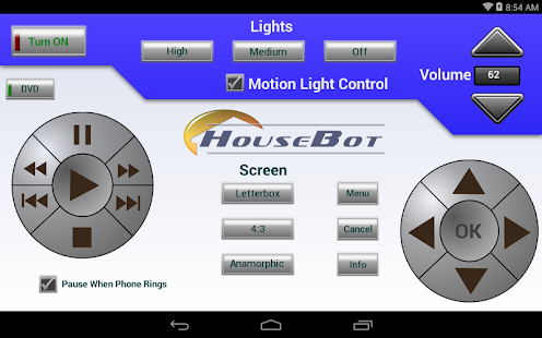 HouseBot Remote- screenshot thumbnail
