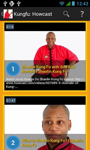 Shaolin Kungfu: Howcast