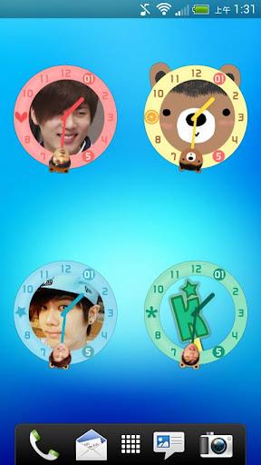 Kyu Jong Clock Widget