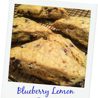 Food Babe's Blueberry Lemon Scones.
