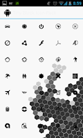Screenshot of Tiny Black Apex Nova ADW Holo