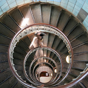 Staircase by Dominic Jacob - Buildings & Architecture Other Interior ( stair, stairs, staircase, lighthouse, spiral,  )