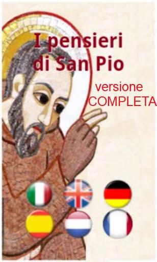 Pensieri di San Padre Pio