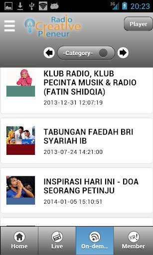 【免費音樂App】Radio Creative Preneur PRO-APP點子