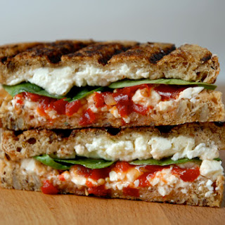 Spinach and Feta Grilled Cheese
