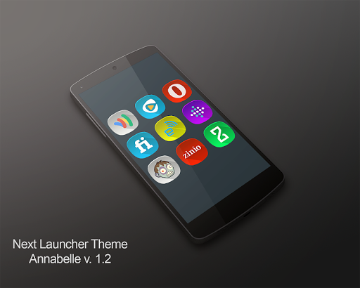 Next Launcher Theme Annabelle