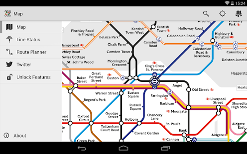 Tube Map - London Underground