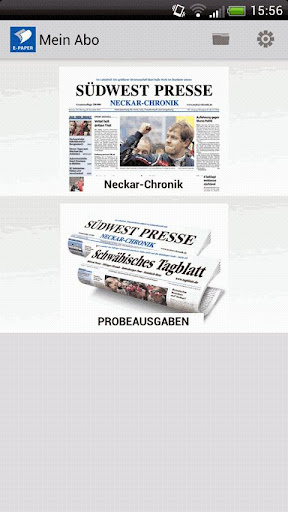 E-Paper Neckar-Chronik