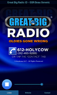 Great Big Radio- screenshot thumbnail