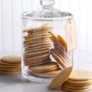 Crisp Sugar Cookies.