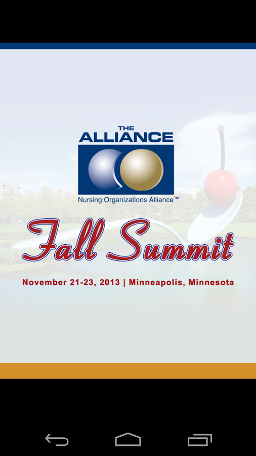 2013 Fall Summit - screenshot
