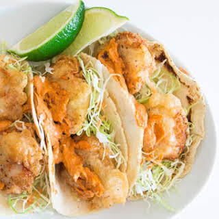 Fish Tacos with Chili Lime Allioli.