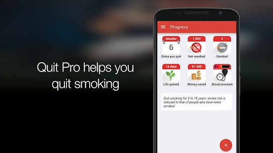 Quit Pro: stop smoking now- screenshot thumbnail