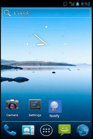 Notification Light Widget- screenshot