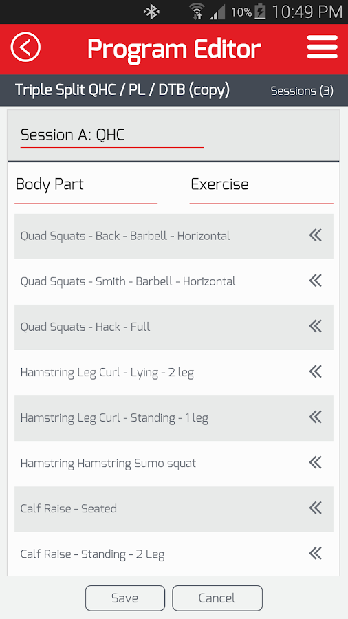 AMP Your Workout- screenshot