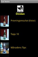 Screenshot of Ölprovarföreningen Malte
