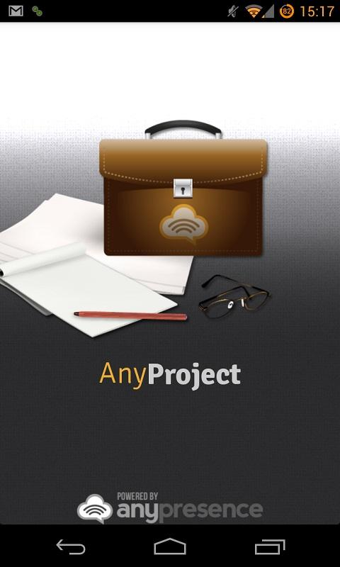 AnyProject- screenshot