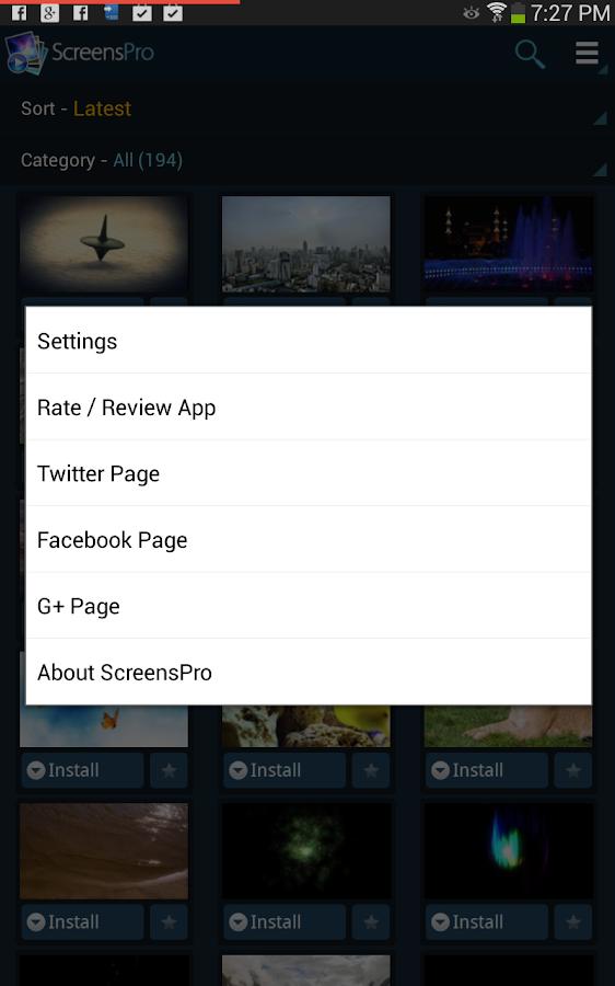 HD Video Live Wallpapers PRO- screenshot