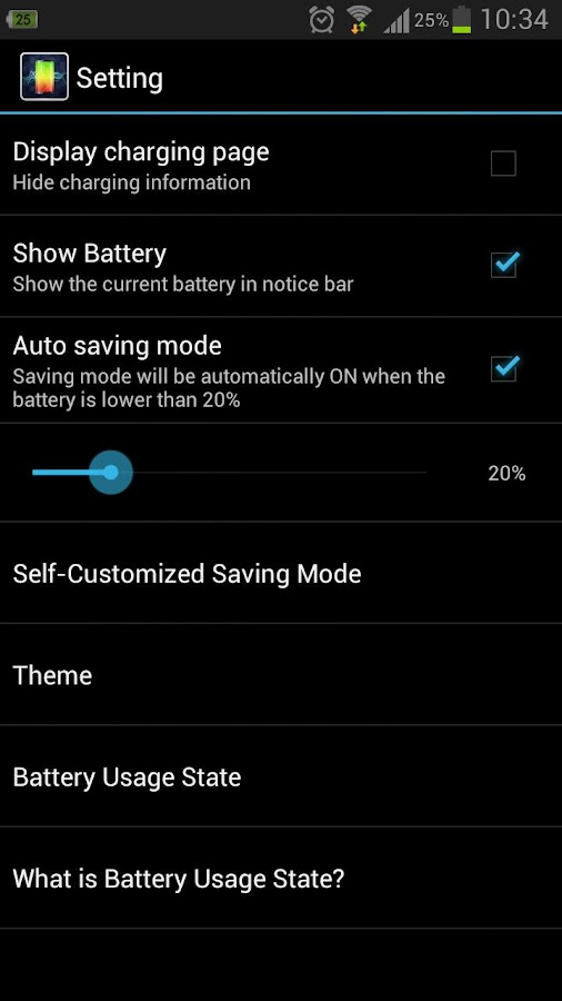 Battery Master-Save power!- screenshot