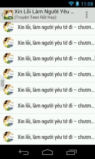 Xin Loi Lam Nguoi Yeu To Di