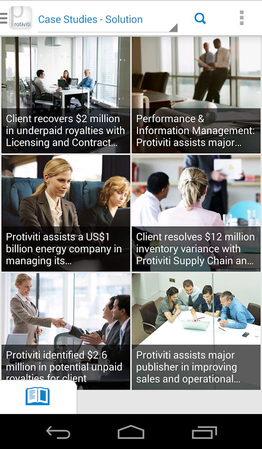 Protiviti Mobiliti- screenshot