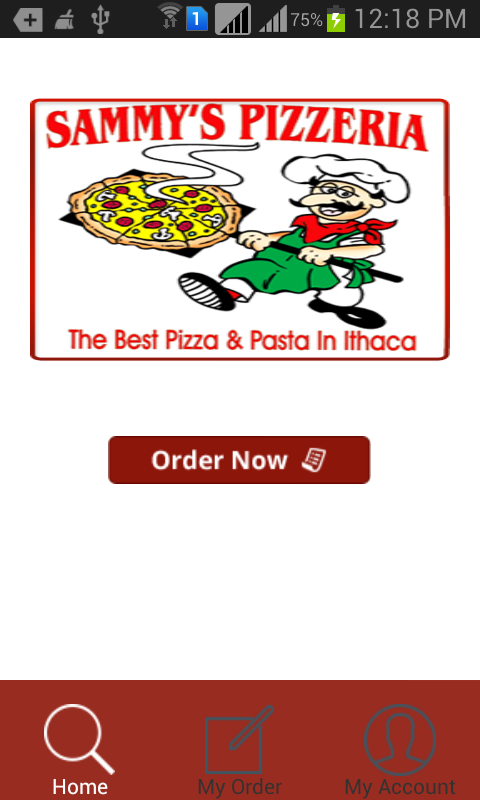 Sammy's Pizzeria- screenshot