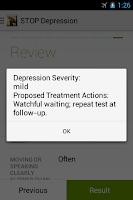 Screenshot of STOP Depression