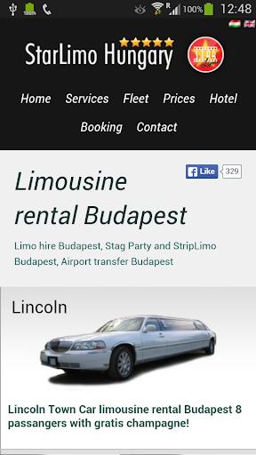 Limousine Renatal Budapest