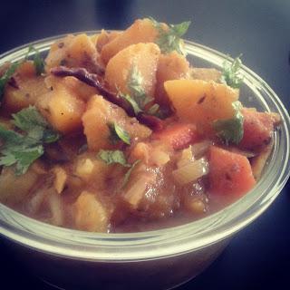 Sweet Potato and Pumpkin Curry Recipe – Kids Friendly.