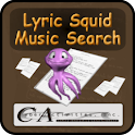 Lyric Squid Music Search Free logo