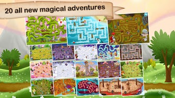 Screenshot of Fairytale Maze 123 for Kids