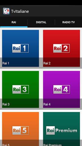 TV Italiane DMAX RAI MEDIASET