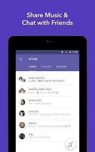 Rithm - Free Music Messaging - screenshot thumbnail