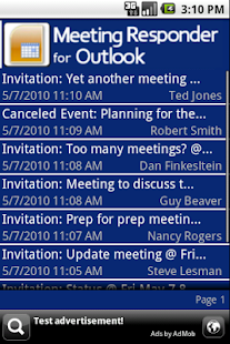 Meeting Responder for Outlook - screenshot thumbnail