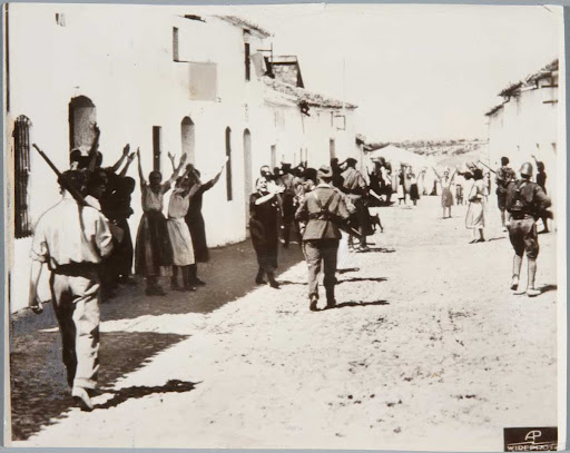 Women pleading with Rebels for Lives of Prisioners, Constantina, Seville