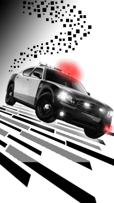 Police Cop Car Live Wallpaper - screenshot