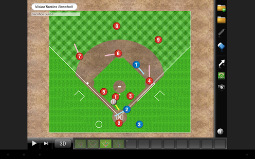 VisionTactics Baseball- screenshot thumbnail
