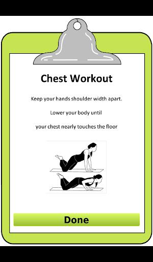 玩免費健康APP|下載女子胸部+背部锻炼 app不用錢|硬是要APP