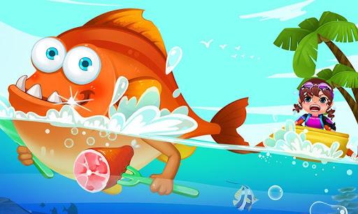 Baby Sea Adventure: Crazy Fish