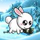 Cute Rabbit Snow Adventure