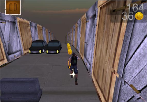 เกมส์วิ่งเก็บเหรียญผจญภัย 3D - screenshot