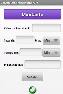 Calculadora Financeira - screenshot thumbnail