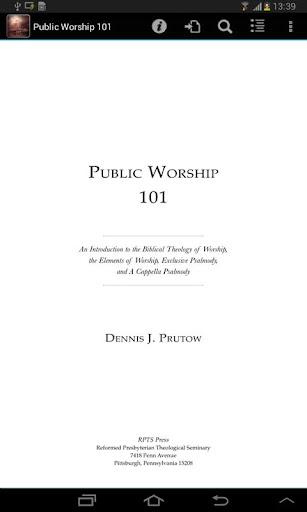 Public Worship 101