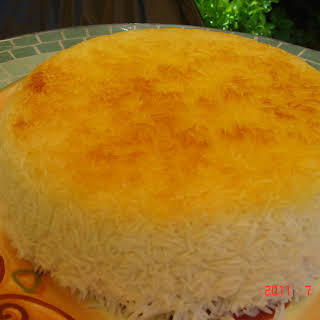 Basmati Rice (Iranian)with Tahdig.