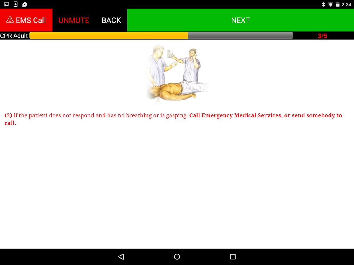 First Aid & Symptom Checker - screenshot