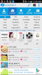 HomeNut - MakeApp, AppMaker - náhled