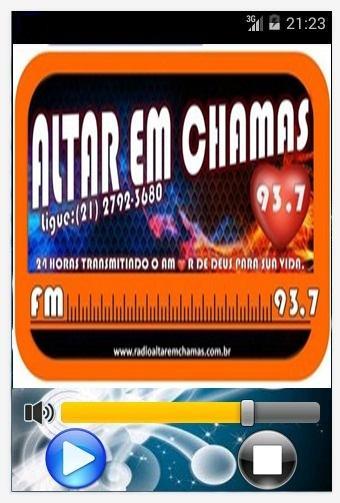 Rádio Altar em Chamas
