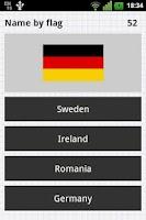 Screenshot of National Flags